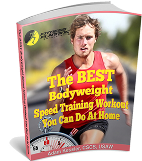 Cover of The BEST Bodyweight Speed Training Workout